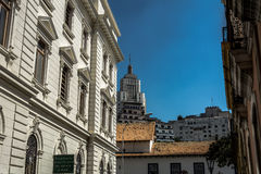 著名大厦` banespão ` 免版税库存图片
