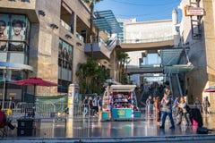 著名好莱坞大道 在洛杉矶 免版税库存图片