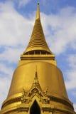 著名宗教寺庙wat phra prakaew盛大宫殿看法在曼谷泰国 免版税库存图片