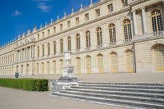 著名宫殿凡尔赛外部看法  免版税图库摄影