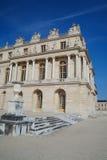 著名宫殿凡尔赛外部看法  免版税库存图片