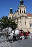 著名布拉格 免版税库存图片