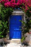 著名希腊海岛santorini 库存图片