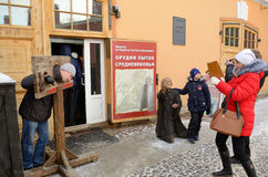 著名彼得和保罗堡垒 免版税库存照片