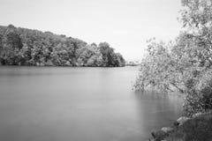 著名意大利湖横向orta 图库摄影