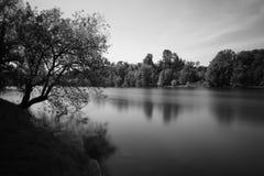 著名意大利湖横向orta 免版税库存图片