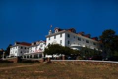 著名斯坦利旅馆在Estes公园,科罗拉多 库存图片