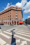 著名旅馆Astoria在圣彼德堡,俄罗斯 图库摄影