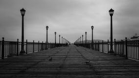 著名旧金山` s码头第14 免版税库存图片