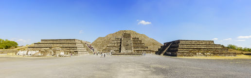 著名月亮金字塔 库存图片