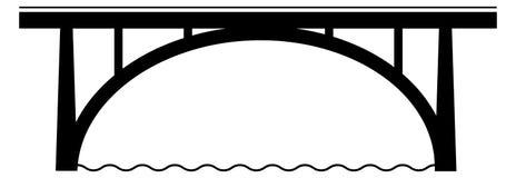 著名桥梁在伯尔尼 免版税图库摄影