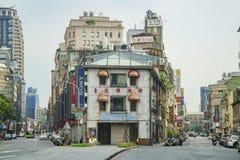 著名照相机街道在台北 图库摄影