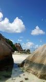 著名的海滩 免版税库存图片