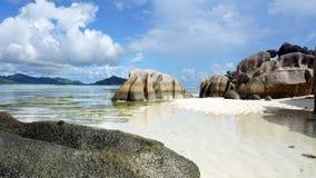 著名的海滩 免版税图库摄影