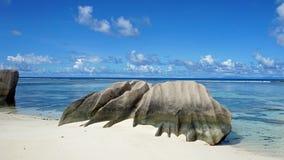 著名的海滩 库存照片