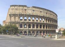 著名罗马斗兽场在罗马 库存图片