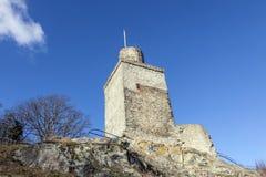 著名老城堡Falkenstein 免版税库存照片