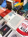 著名英国文学小说在图书馆书店的待售 库存图片