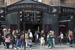 著名赌博娱乐场伦敦竞技场 伦敦竞技场在1900年被修造了由弗兰克Matcham作为马戏和品种perfo的一个竞技场 库存照片
