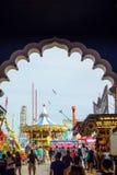 著名钢码头在大西洋城 免版税库存照片