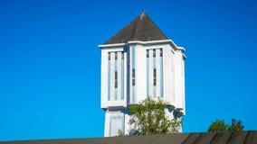 著名阿尔默洛水塔1926年是荷兰纪念碑 免版税库存照片