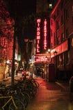 著名风车表舞蹈酒吧在伦敦伦敦西区-伦敦苏豪区伦敦英国 免版税库存照片