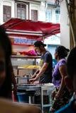 著名食物在槟榔岛 库存照片