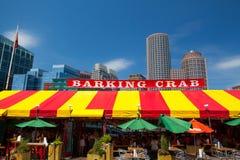 著名餐馆咆哮螃蟹 库存照片