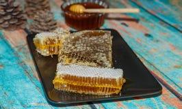 著名马尔马里斯港蜂蜜 库存照片