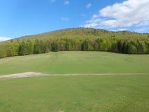 著名`圣徒山`在Csiksomlyo附近的Csikszereda 库存图片