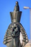 著名头骨狮身人面象在圣彼德堡 库存照片