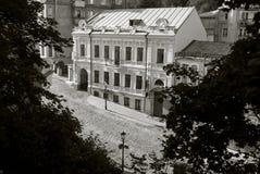 Andreevsky街道在基辅,乌克兰 免版税库存图片