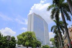 著名baitiane (白色天鹅)旅馆 免版税库存照片