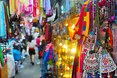 著名Chatuchak市场,曼谷,泰国 图库摄影