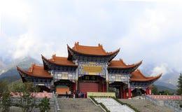 著名chongsheng寺庙在大里市,瓷 图库摄影