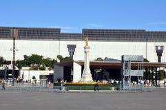 著名fatima iteresting的位置点葡萄牙宗教viewl 库存图片
