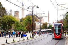 著名hagia伊斯坦布尔sophia 伊斯坦布尔,土耳其 免版税库存图片