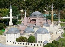 圣索非亚大教堂(Ayasofya) 库存照片