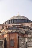 著名hagia伊斯坦布尔sophia 免版税库存图片