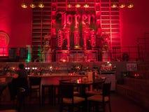 著名Jopenkerk酒吧在老被改革的教会里 免版税库存图片