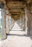著名Krishna市场的段落 免版税库存图片