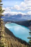 著名Lake Louise世界 免版税库存照片