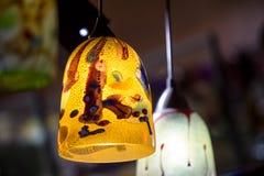 著名Murano玻璃在威尼斯 免版税库存图片
