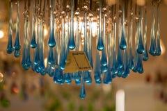 著名Murano玻璃在威尼斯 库存图片