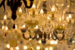 著名Murano玻璃在威尼斯 免版税库存照片