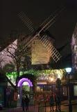 著名restaurant Le moulin de la galette 库存图片