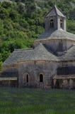 著名Senaque修道院(修道院),普罗旺斯 免版税图库摄影