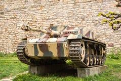 著名Stug III德国人攻击坦克 免版税库存图片