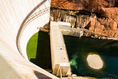 葛伦峡谷水坝 库存图片
