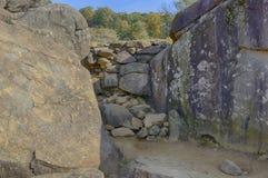 葛底斯堡全国军事公园,宾夕法尼亚 库存图片
